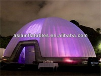 Most Popular Giant 16m LED Lights Tent Inflatable Igloo Tent for Sale