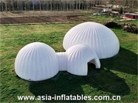 Customized Design 210D Oxford Cloth Inflatable Dome Tent for Events