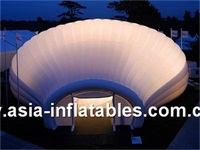 Giant LED Lighting Inflatable Igloo Dome Tent for Events
