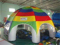 Folkbladet Advertising Inflatable Dome Tent for Sales Promotions
