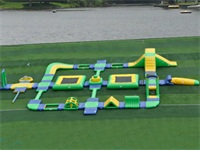 Commercial Grade Aqua Inflatable Water Parks 3 for Rentals