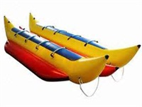 New Double Tubes Towable Inflatable Banana Boat 8 Riders for Sale