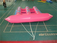 Best Fun Pink Color Inflatable Flying Fish Boat for Retails