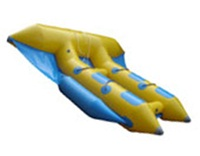 Customized Durable 4 Riders Inflatable Flying Fish Boat for Rentals