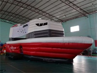 Durable Inflatable Ship Bouncer for Party