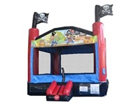 Inflatable Pirate Boat Bouncy House