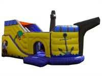 Inflatable Pirate Boat Mega Slide