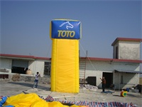 TOTO Inflatable Signs for Sales Promotion
