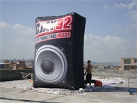 Every Thing That Rocks GJAY 92 Inflatable Speaker Model 14 Foot in Height