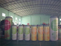 Full Color Digital Printing Inflatable Pop-Top Can for Sales Promotions