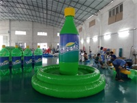 Air Sealed Welding Inflatable Sprite Bottle 12 Foot