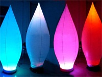 2m Height LED Light Inflatable Decoration for Bar,Event or Party