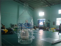 Air Sealed Welding PVC Inflatable Bottle 3m High