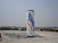 Thailand Shark Brand Energy Drink Advertising Inflatable Can Model