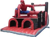 34 Feet Inflatable Spiderman Obstacle Challenge for Sale