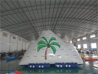 New Durable Giant Inflatable Climbing Iceberg 14 Feet High