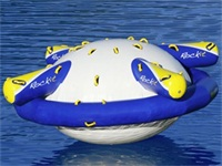 Aqua Green Rockit Circular Water Rocker Unlimited Fun for 8 People