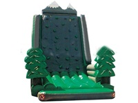 New Design Twin Peaks Inflatable Rock Climbing Wall for Sales Promotion