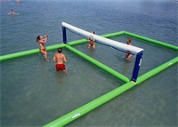 Inflatable Beach Volleyball Court Water Play Equipment for Sale