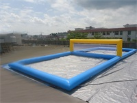 OEM Inflatable Water Volleyball Court for Water Sports