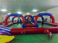 Inflatable Zorb Ball Race Track