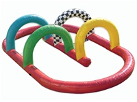 Small Inflatable Race Car Track