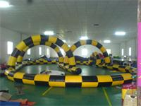Most Popular Durable Inflatable Zorb Ball Race Track for Sale