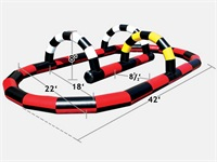 Widely-Used Inflatable Race Track