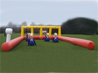 Great Fun Strong Style Inflatable Pony Hop Race Track