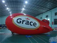 Full Color Printing Inflatable Blimp