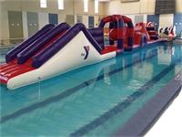 Aqua Run Inflatable Water Obstacle Course for Kids and Adults