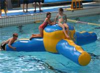 Aqua Runs Tri Star Inflatable Water Games