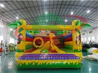 Inflatable Jungle Bounce House