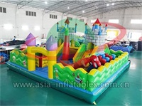 Inflatable Dragon Castle Jumping Playground