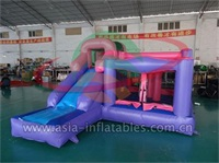Mini Bouncer With Inflatable Slide Combo