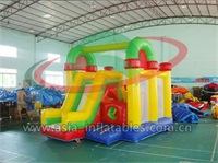 Small Bouncer With Mini Slide For Party