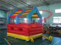 Inflatable Mini Bounce Castle With Roof
