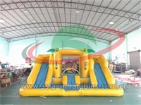 Misty Kingdom Inflatable Water Slide Combo