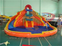 Mini Jungles Inflatable Water Slide for Backyard