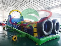 Inflatable Palm Tree Obstacle Course And Sports