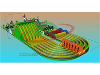 Commercial Grade Circus Inflatable Obstacle Course