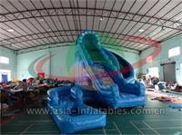 Inflatable Corckscrew Water Slide