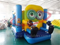Lovely Inflatable Minion Jumping Castle
