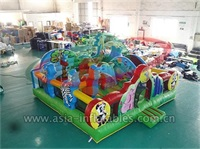 Inflatable Animal Kingdom Playground