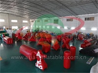 Outdoor Inflatable Paintball Bunkers For Battle Games