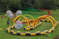 Inflatable Zorb Ball Race Track for Amusement Park