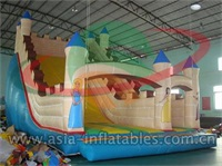 Giant Inflatable Tower Castle Slide