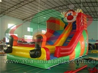 Inflatable Happy Clown Slide