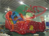 Giant Inflatable Clown Slide