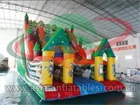 Inflatable Animal Forest Slide